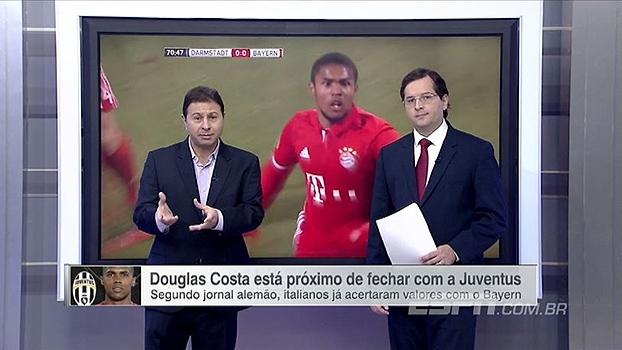 Marra espera Douglas Costa jogando mais na Juventus: 'Mudança boa para ele'