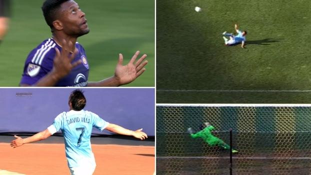 Após golaço, Villa perde pênalti bizarro, vê Julio Baptista marcar e Orlando empatar nos acréscimos