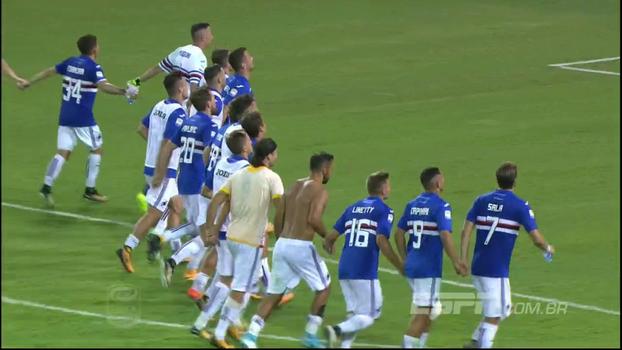 Assista aos melhores momentos da vitória da Sampdoria sobre o Benevento por 2 a 1!