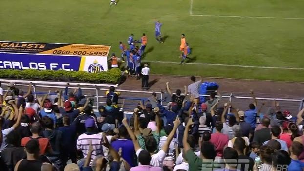 Copa São Paulo: Gol de São Carlos 1 x 0 Vasco