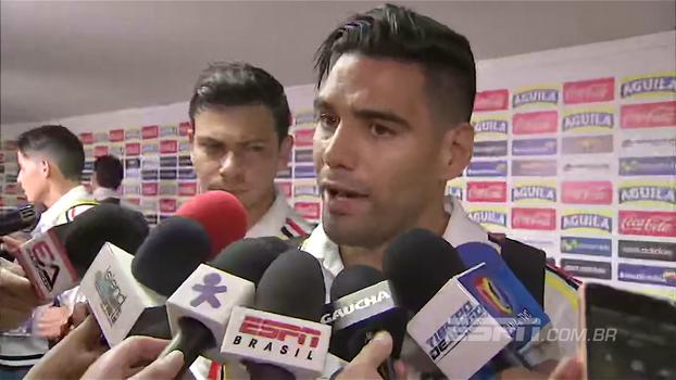Falcão, autor do gol, exalta Brasil, diz que Colômbia mostrou seu caráter e valoriza ponto conquistado