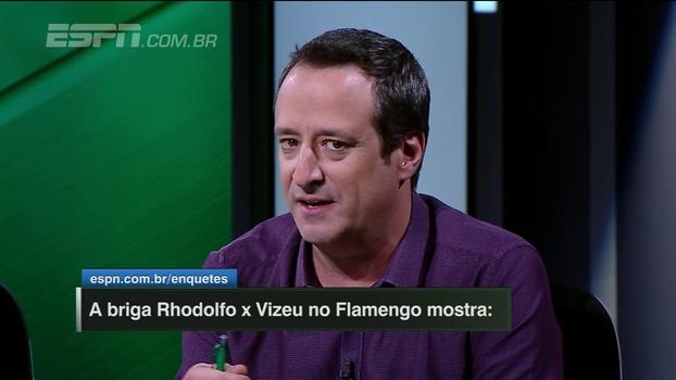 Gian, sobre Rhodolfo x Vizeu: 'Considerar aquela atitude um exemplo de comprometimento é uma insanidade'