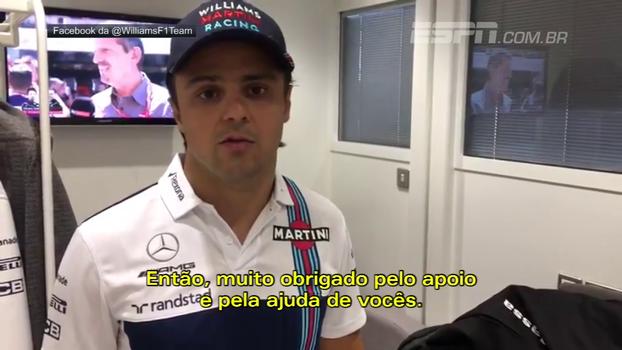 Massa se diz triste e explica mal estar na Hungria: 'Estava me sentindo tonto'
