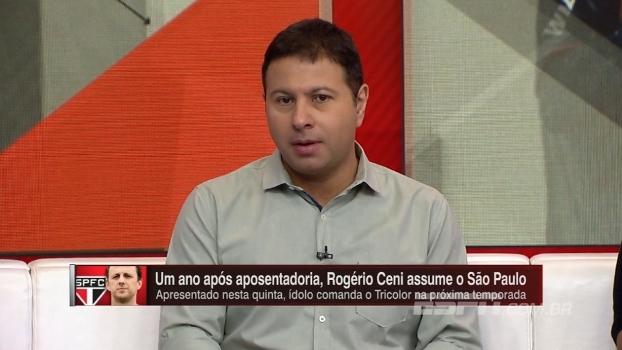 Mário Marra analisa retorno de Rogério Ceni ao São Paulo: 'Vai fazer bem ao futebol'