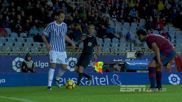 Assista aos melhores momentos da vitória do Real Sociedad sobre o Eibar por 3 a 1!