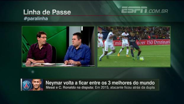 Bertozzi coloca outros jogadores à frente de Neymar e avalia diferença para Cristiano Ronaldo e Messi: 'De 2015 para cá, aumentou'
