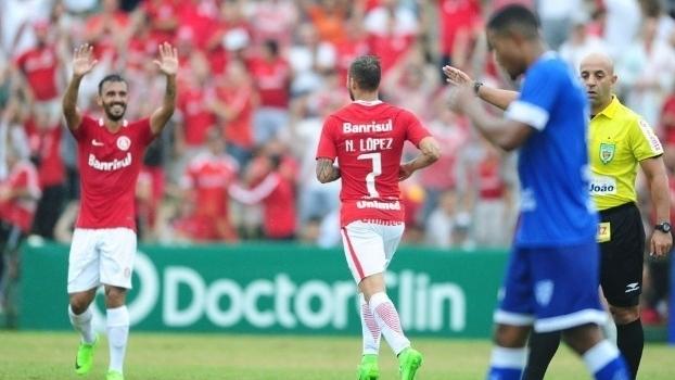 Gaúcho: Gols de Cruzeiro-RS 0 x 2 Internacional