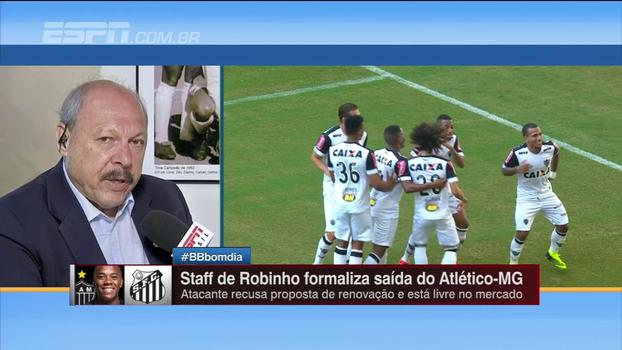 Novo presidente do Santos tem cautela ao falar sobre possível contratação de Robinho
