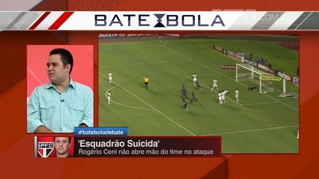 Bertozzi elogia São Paulo de Rogério, mas alerta: 'Tem jogadores falhando demais'