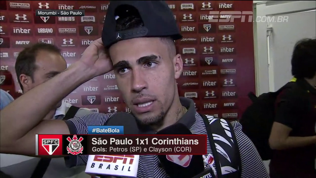 Após provocar com gesto obsceno, Gabriel pede desculpas à torcida do São Paulo