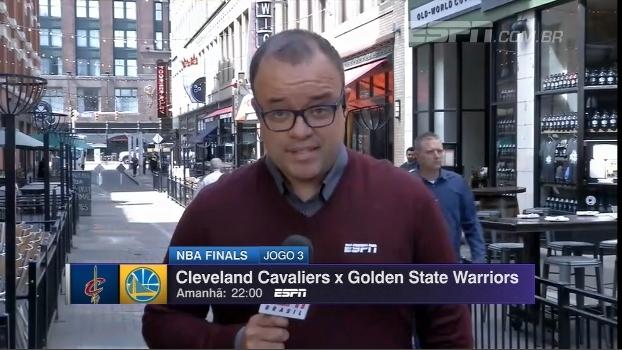 Para bater os Warriors, Cavs precisam da pontaria de Edinson Cavani! Everaldo Marques, de Cleveland,