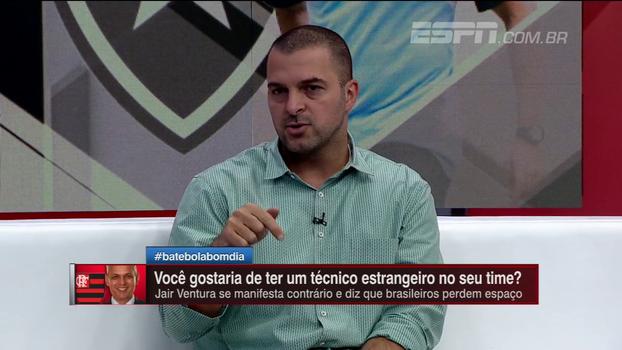 Zé Elias não condena declaração de Jair Ventura sobre estrangeiros: 'O que ele está falando eu passei na pele'