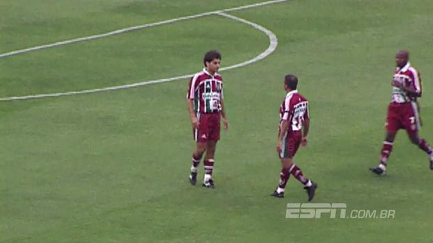 Quem viu? Há 15 anos, Romário arrumou confusão com companheiro do Fluminense em goleada sofrida para o São Paulo