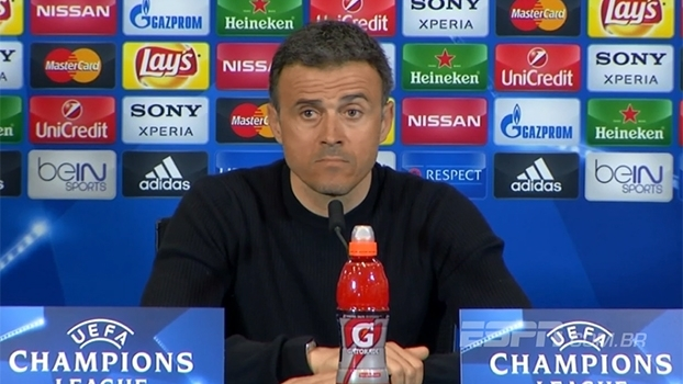 Luis Enrique se coloca como responsável pela eliminação e diz que Barcelona precisa melhorar