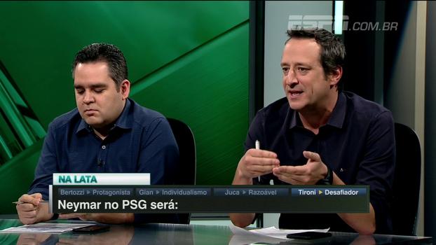 Gian, sobre Neymar no PSG: 'Símbolo do individualismo que guia as decisões dos grandes jogadores'