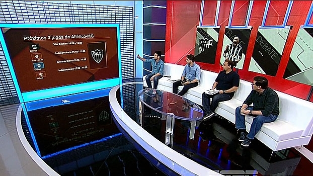 Após subir 6 posições em 11 jogos, Unzelte coloca Atlético-MG na briga pelo título