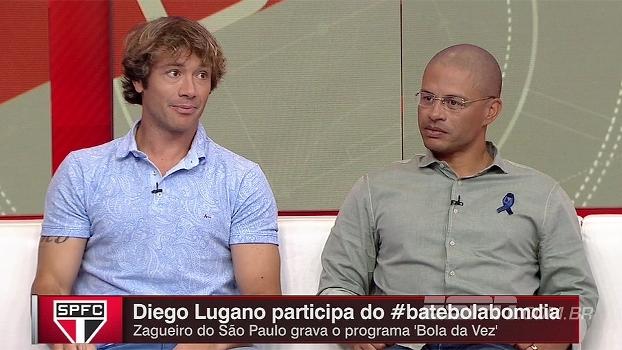 Lugano diz que Alex teria vaga de titular eterna na seleção uruguaia: 'Muito rápido mentalmente'