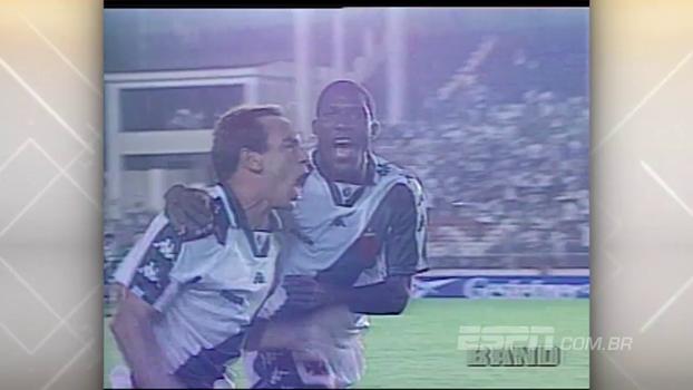 Edmundo e Juninho Pernambucano brilharam, e Vasco venceu Palmeiras no Brasileiro de 1997
