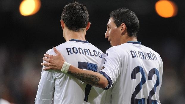 Com gols de Özil, Di Maria e Cristiano Ronaldo, Real Madrid goleou Málaga pela LaLiga em 2013