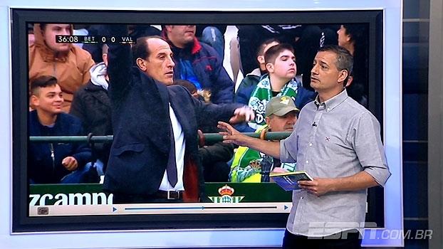 Sálvio detona arbitragem de Betis x Valencia: 'Não marcar esse pênalti é inexplicável'