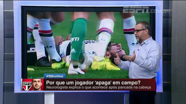 Raio-x ESPN: Neurologista explica o que acontece após uma pancada na cabeça