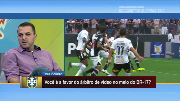 Zé Elias e Hofman concordam sobre árbitro de vídeo: 'Não se muda o jogo durante a competição'