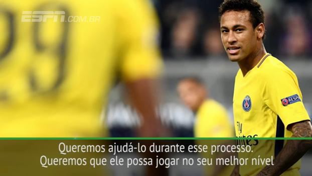 Para Unai Emery, Neymar pode melhorar ainda mais como jogador