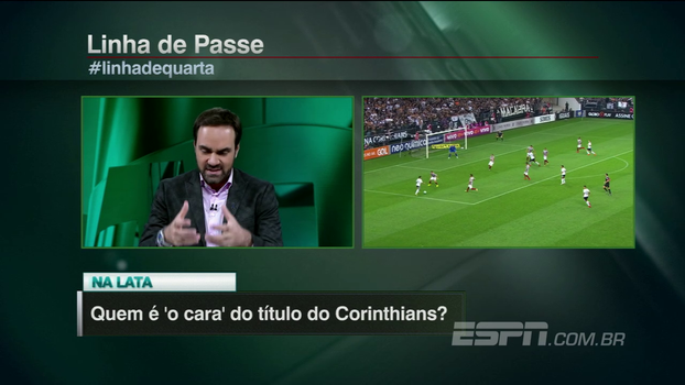 Quem é O CARA do título do Corinthians? Confira as opiniões do 'Linha de Passe'