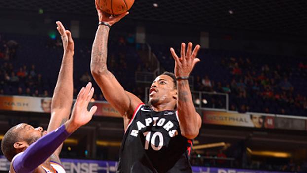 DeRozan faz 37 na vitória dos Raptors; LA Clippers e Wizards também vencem