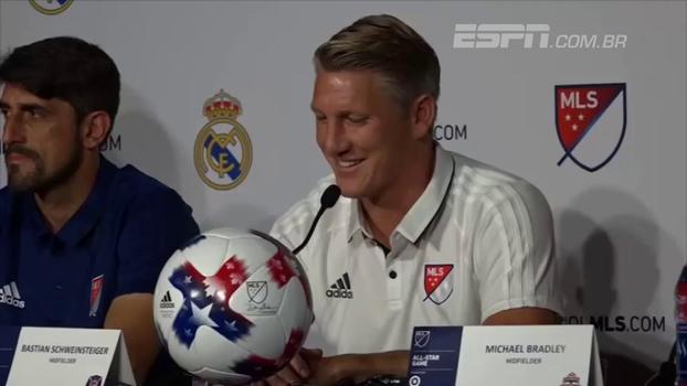 Schweinsteiger diz que a MLS pode chegar ao nível da Premier League em 10 anos