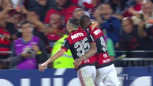 Flamengo goleou a Chapecoense na Ilha; Bibiana Bolson conta como foi