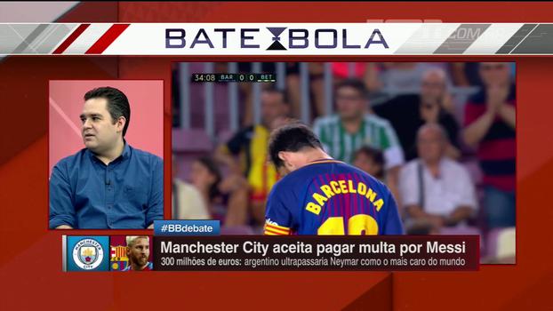 Liga atrativa, competitividade, Guardiola... Comentaristas debatem motivos para Messi considerar ir ao Man. City