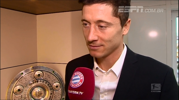 Matador e referência do time, Lewandowski se sente em casa no Bayern e renova até 2021