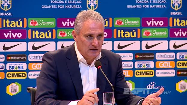 Tite explica seus critérios para a convocação da Seleção Brasileira; entenda