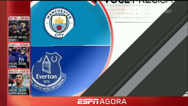 Manchester City x Everton, Campeonato Espanhol e mais; veja a programação desta segunda-feira dos canais ESPN