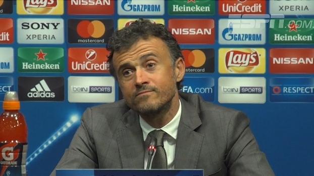 Luis Enrique ainda lamenta primeiro jogo contra a Juventus: 'Lembrarei por muito tempo'