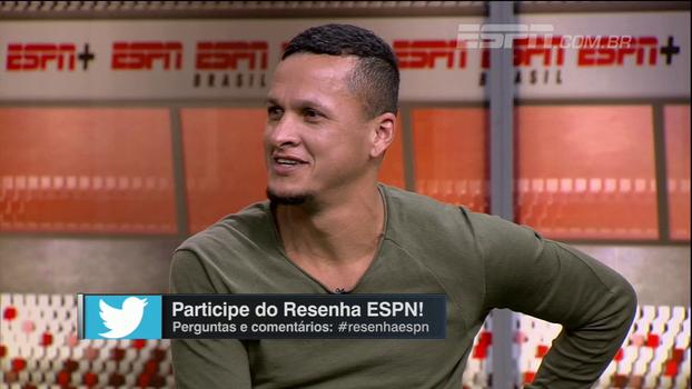 Souza trata São Paulo como 'melhor escolha da vida' e lembra quando 'judiou' de Mascherano