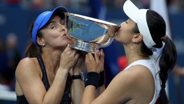 Veja lances da vitória de Hingis/Chan sobre Hradecka/Siniakova por 2 a 0 na final do US Open!