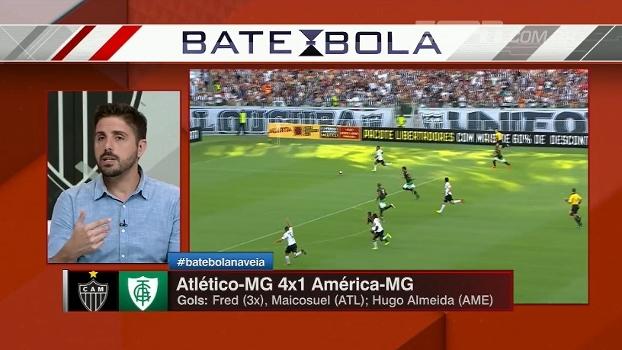 Para Nicola, sem 'fantasma' de Pratto, Fred se sentirá mais à vontade no Atlético