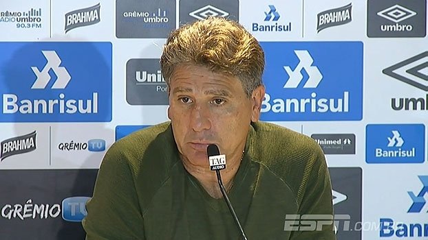 Renato Gaúcho avalia 'vantagem' no Novo Hamburgo mas garante: 'Confio nos meus jogadores'
