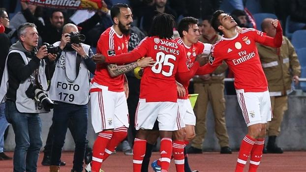 Português: Gols de Académica 1 x 2 Benfica