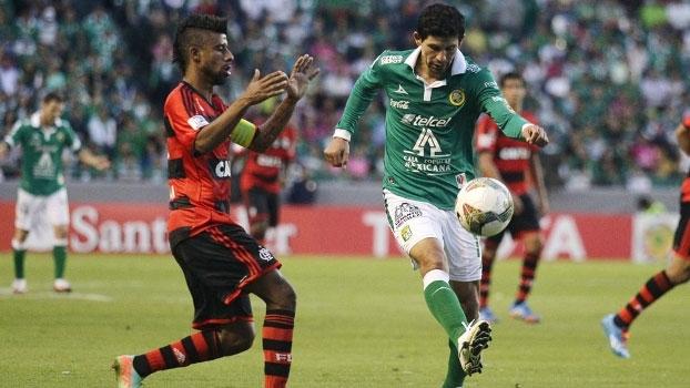 Libertadores: Gols de León 2 x 1 Flamengo