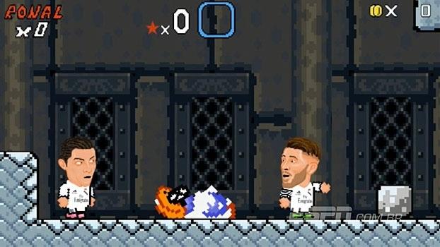 No videogame, Cristiano Ronaldo conta com ajuda dos companheiros, dispensa princesa e fica com Bola de Ouro