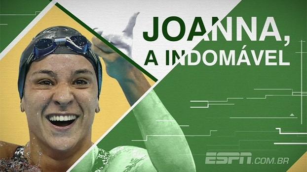 Verdadeira e polêmica, a 'indomável' Joanna Maranhão vai para sua quarta Olimpíada