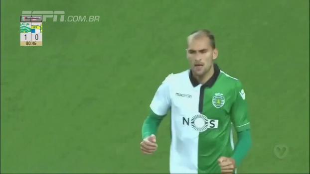 Coates e Bas Dost colocam o Sporting nas oitavas da Taça de Portugal; veja os gols