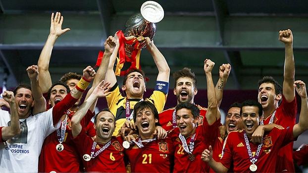 cf2f47db19 Final da Eurocopa  Gols de Espanha 4 x 0 Itália - ESPN