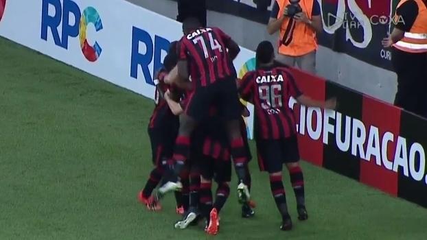 Paranaense: Gols de Atlético-PR 2 x 0 Coritiba