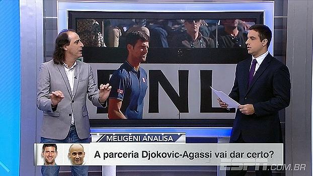 Meligeni analisa parceria Djokovic-Agassi: 'A fórmula é conhecida'