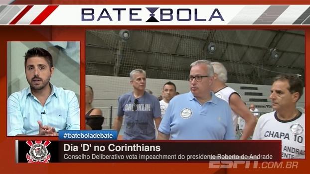 Nicola: 'Só traição muito grande fará com que Roberto de Andrade sofra o impeachment'