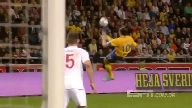 Aniversário de 5 anos! Relembre a histórica bicicleta de Ibrahimovic contra a Inglaterra narrada em sueco!